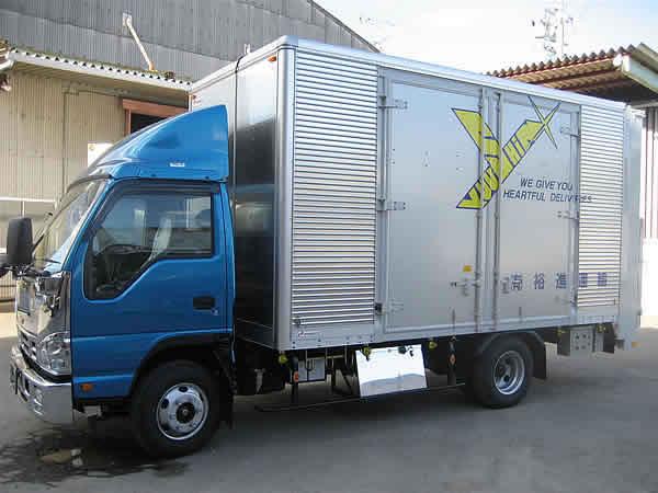 建材用機材運搬車